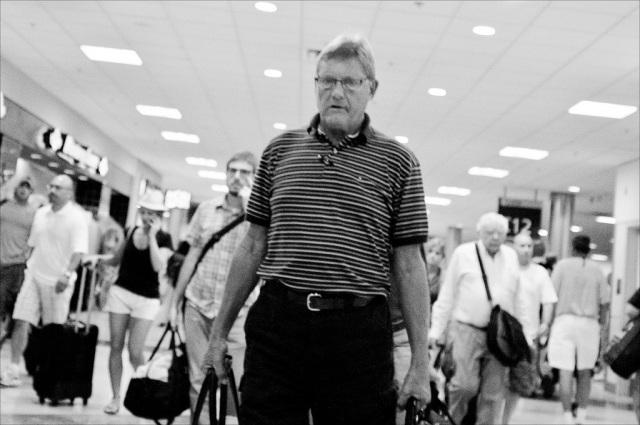 Airport zombie