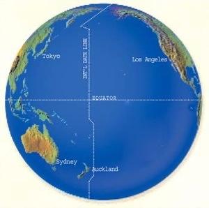 International Date Line (Credit: Jetsetway.com)
